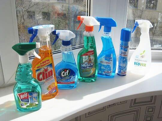 чем мыть пластиковые окна